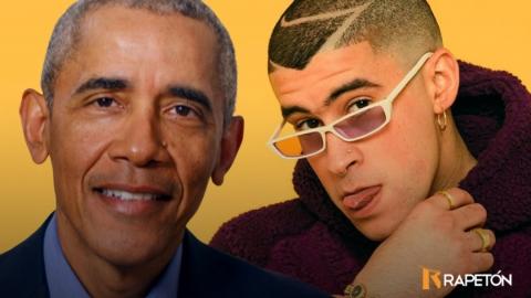 La Difícil de Bad Bunny entre las mejores canciones de Barack Obama...