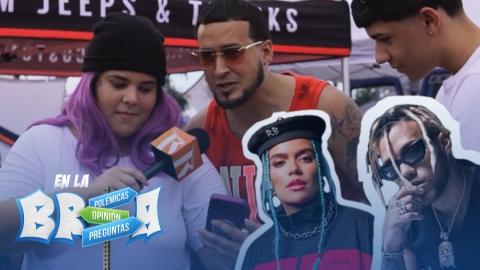 EN LA BREA | Hablando de Bichota y Nuevo look de Jhay Cortez