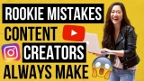 ADVICE FOR CONTENT CREATORS (Never Make These 8 Mistakes)