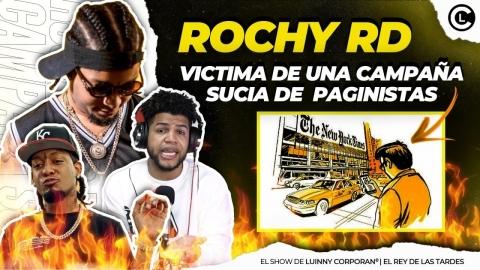 LUINNY REVELA A ROCHY RD LE ESTAN MONTANDO UNA CAMPAÑA SUCIA. LE...