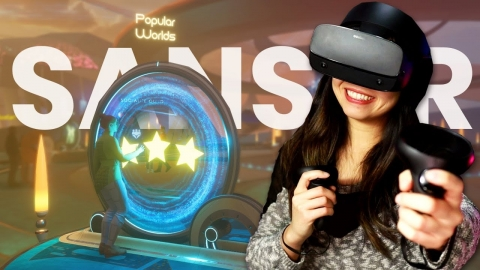 A Day Of Exploring Sansar VR Worlds & Events