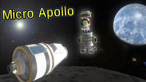 Apollo, but everything is tiny -ksp