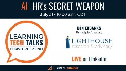 AI | HR's Secret Weapon with Ben Eubanks