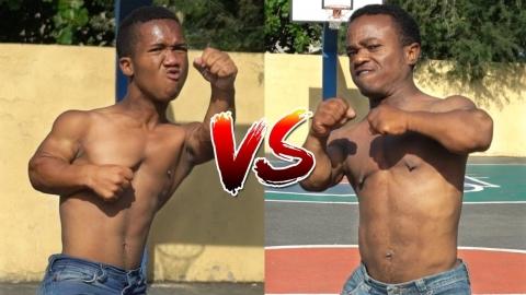 Batalla de ENANOS | El Enano ALOFOKE vs EL ENANO DON MIGUELO !...
