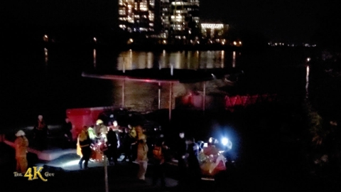 Montréal: Firefighter missing after water rescue gone wrong...