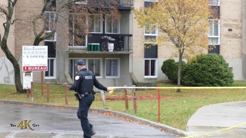 Québec: Police search at home of katana homicidal suspect 11-1-2020