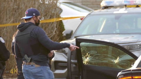 Toronto: Man shot dead while sitting in parked Dodge Charger 4-3-2021