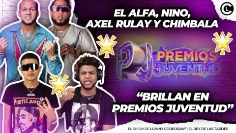 """EL ALFA """"EL JEFE"""" NINO FREESTYLE, CHIMBALA Y AXEL RULAY LO QUE NADIE DIRÁ DE PREMIOS JUVENTUD"""