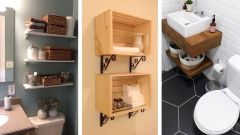 20 Genius Small Bathroom Storage Ideas