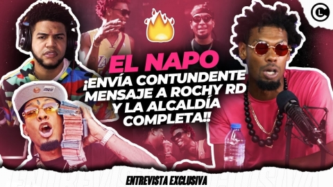 EL NAPO MANDA CONTUNDENTE MENSAJE A ROCHY RD Y ALCALDÍA. LE ENTRA...