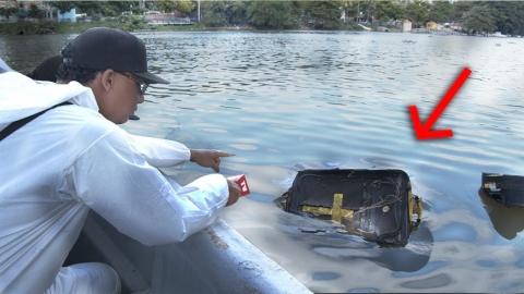Revisando MALETAS en el RIO más peligroso en RD !