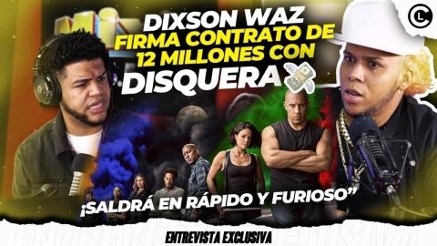 """DIXSON WAZ FIRMÓ POR 12 M. PIDE DISCULPAS AL ALFA """"EL JEFE""""..."""