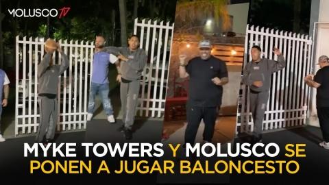 Myke Towers humilla a Molu jugando ESCALERITA 🏀🤦🏻♂️