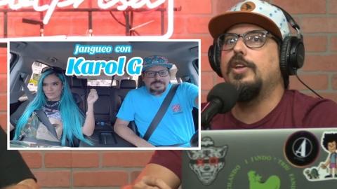 Como Chente consiguió la entrevista de Karol G?