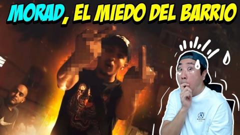 MORAD 'EL MIEDO DEL BARRIO' 😨 NORMAL REACCION 😅😂
