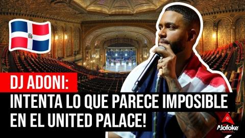 DJ ADONIS: EL DOMINICANO QUE INTENTA LO QUE...