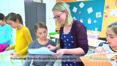 AEP en service de garde en milieu scolaire