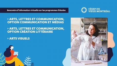 Webinaire | Arts, lettres et communication - Communication et médias...