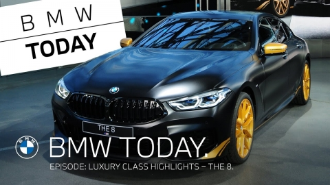 BMW Today – Episode 33: Luxury class highlights – THE 8 Golden Thunder Edition.