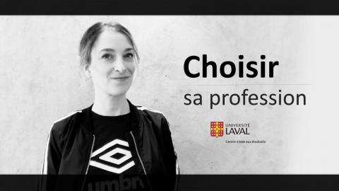 Choisir sa profession