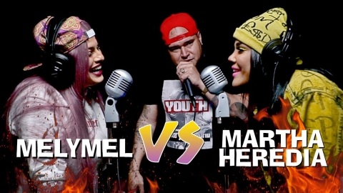 MELYMEL vs MARTHA HEREDIA | Batalla con DJ Scuff |