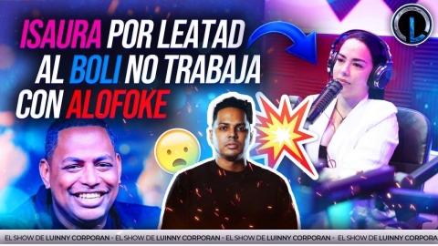 """ISAURA TAVERAS NO TRABAJARÍA CON SANTIAGO MATIAS """"ALFOKE""""..."""