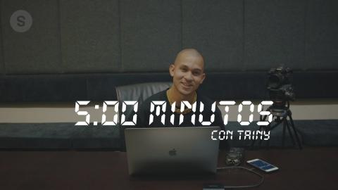 Produciendo una canción con Tainy en 5 Minutos