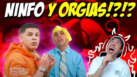 OMY DE ORO Y KEVVO 'LOS REYES DE LAS NINFO' 😂😅