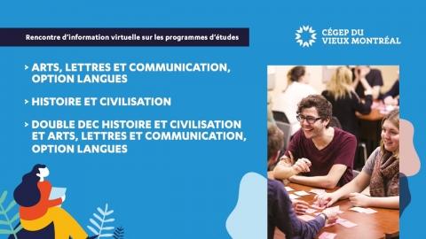 Webinaire   Arts, lettres et communication - Langues & Histoire et...