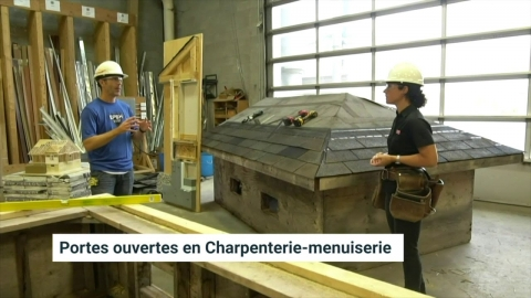 DEP   Charpenterie menuiserie