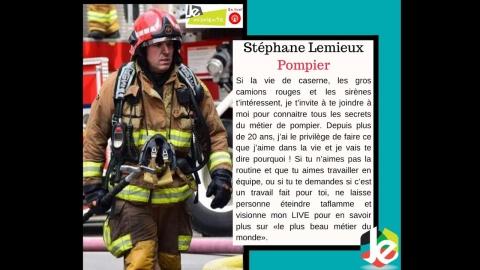 JE m'oriente en live! - Pompier