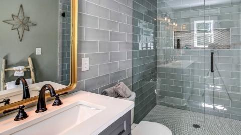 30 Modern Bathroom Tile Ideas