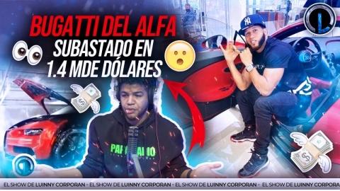 "BUGATTI DEL ALFA ""EL JEFE"" QUEMAD@  CUESTA 1.4 MILLONES DE..."