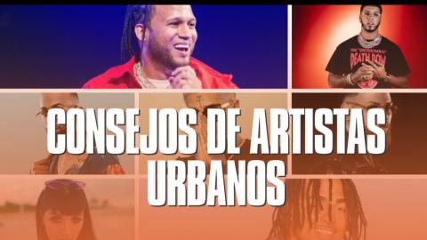 Recopilación de artistas urbanos dando consejos