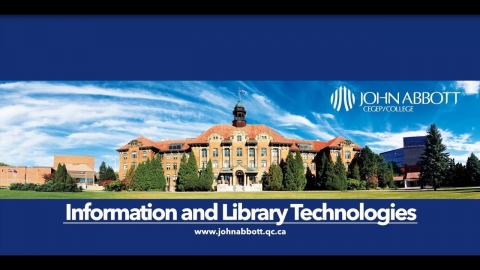 Information and Library Technologies Program