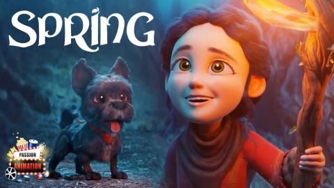 CGI Animated Short Film: SPRING (3D Animation...