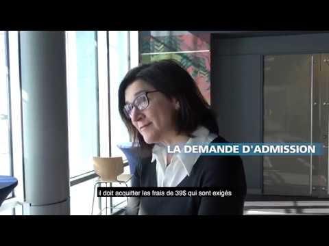 La demande d'admission au SRACQ | Capsules Experts