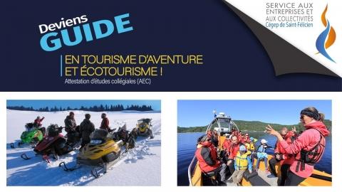 AEC | Guide en tourisme d'aventure et écotourisme