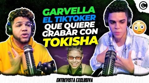 GARVELLA EL TIKTOKER QUE GRABARÍA CON TOKISCHA UN DEMBOW DEL BAJO...