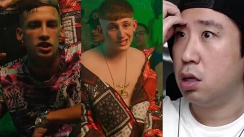 Coreano reacciona a L-Gante y Dillom 😂 Tinty Nasty