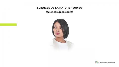 DEC | Sciences de la nature - Sciences de la santé