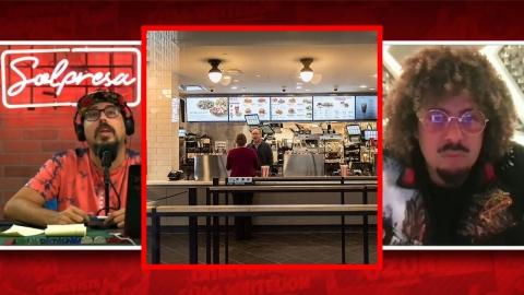 Maffio, lo peor de trabajar en un fast food