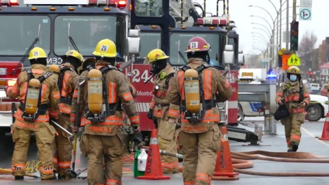 Montréal: Fire on Hochelaga upgraded to 10-12...