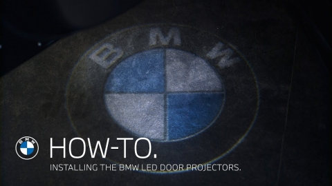 Installing the BMW LED Door Projectors – BMW How-To