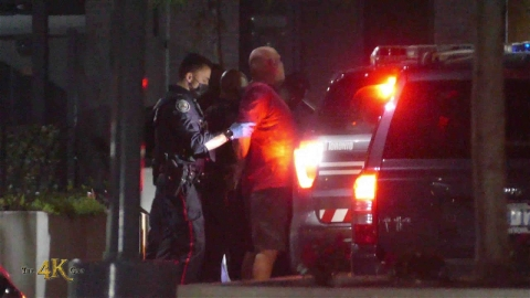 Etobicoke: Unwilling man in custody at East Mall condo building...