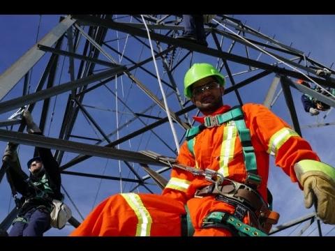 DEP | Montage de lignes électriques