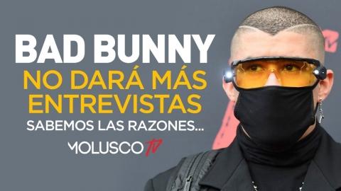 Bad Bunny confirmó que no dará más entrevistas y tenemos la razón 🤦🏻♂️