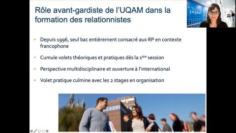 Baccalauréat en communication - Relations publiques
