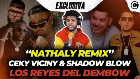 """EXCLUSIVA CEKY VICINY """"NATHALY REMIX"""" FARRUKO, ZION Y DE LA..."""