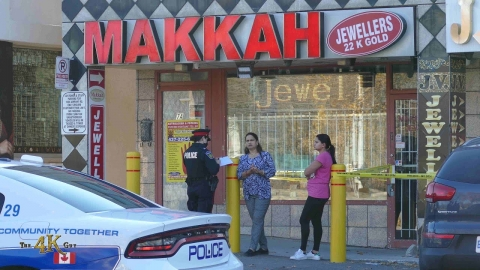 Malton: Jewelry store clerk shot during violent robbery on Airport Rd...